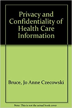 security privacy confidentiality of health information Free essay: security, privacy, and confidentiality (spc) of health information in the philippines definition of terms due to the special nature of health.