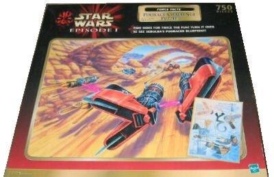 Cheap Hasbro Star Wars Episode 1 Podrace Challenge 750 Piece Double Sided Puzzle (B000K6XL0K)