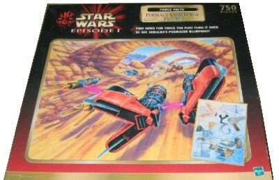 Star Wars Episode 1 Podrace Challenge 750 Piece Double Sided Puzzle - 1