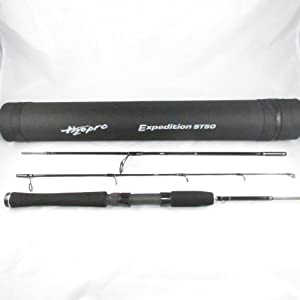 The best selling travel spinning rods for Best travel fishing rod