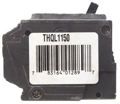General Electric Thql1150 Circuit Breaker, 1-Pole 50-Amp Thick Series