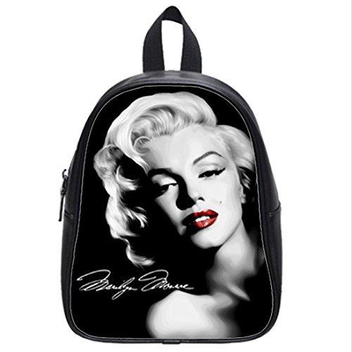 custom-unisex-leather-teenager-school-bag-marilyn-monroe-printed-casual-travel-backpacks-large-by-bo