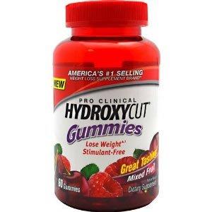 Hydroxycut Pro Clinical Gummies 60CT (Pack de 3)