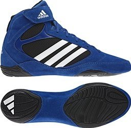 adidas Men\'s Pretereo.2 Wrestling Shoe,Collegiate Royal/White/Black,12 D US