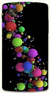 Attractive multicolor printed protective REBEL mobile back cover for LG Nexus 5 / Google Nexus 5 D.No.N-L-18918-NX5