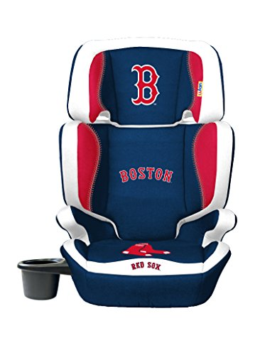 MLB Boston Red Sox 2-in-1 High Back Booster Seat, 30 - 100-Pound, Multi
