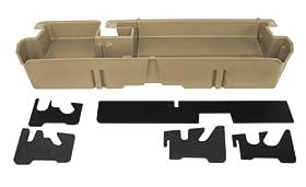 Du-Ha 60053 Toyota Tundra Underseat Storage Console Organizer - Tan