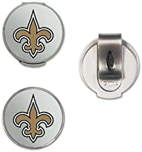 NFL New Orleans Saints A01375 Clamshell Hat Clip with 2 Markers