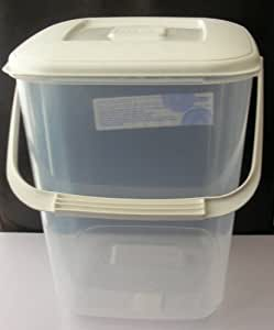 Large 10 litre Food Storage Container Air Tight Lid & Handle