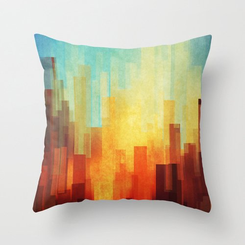 Pillowcover 18 X 18 Inches / 45 By 45 Cm(both Sides) Nice Choice For Father,bench,play Room,car Seat,office,bedding Watercolor