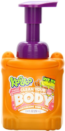 Kandoo BrightFoam Body Wash, Tropical Smoothie Scent, 8.4 Fluid Ounce