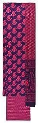 Sanskriti Women's Cotton Unstitched Dress Material (Purple and Pink)
