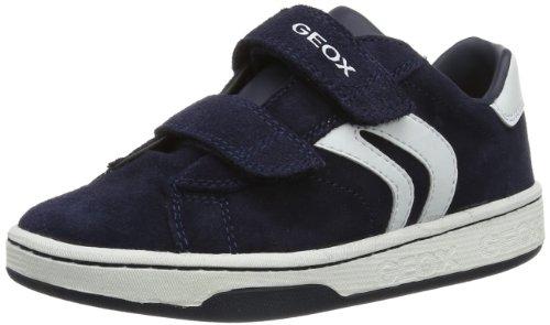 Geox JR MANIA BOY A, Sneaker bambini, Blu (Blau (NAVY/WHITE C4211)), 28