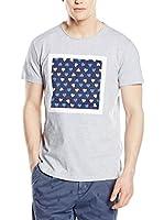 RODA Camiseta Manga Corta (Gris Jaspeado)