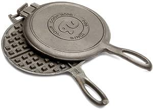 Rome's #1100 Old Fashioned Waffle Iron, Cast Iron
