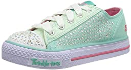 SKECHERS Glamour Ties-Limited Edition 10353L (Youth) - Aqua-12 M Yth