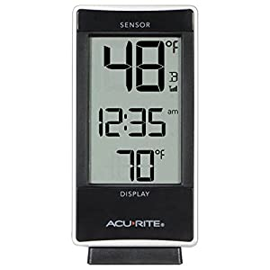 AcuRite 01090M Multi-Sensor Thermometer with 3 Indoor/Outdoor Temperature Sensors by Chaney Instruments