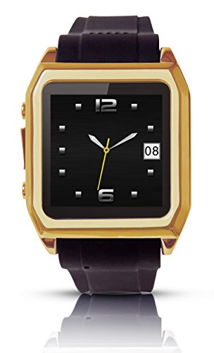 Scinex® SW30 16GB Bluetooth Smart Watch GSM Phone - US Warranty (Gold/Black)