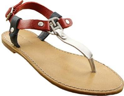 tommy hilfiger flip flop sandals julia 2 red eu 36 uk 3. Black Bedroom Furniture Sets. Home Design Ideas