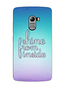 MiiCreations 3D Printed Back Cover for Lenovo Vibe K4 Note,Shine From Inside