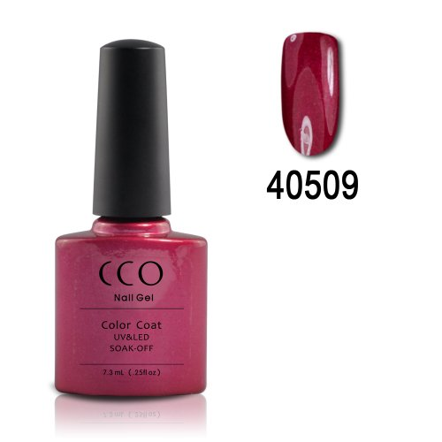 CCO Shellac #09 Red Baroness - UV Gel Soak off Nail Polish (Shellac Nail Polish Red Baroness compare prices)