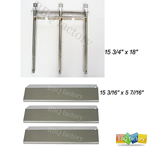 bbq factory Tuscany SGR30ML,SGR30M Gas Grill Repair Kit Replacement Burner & Heat Plate