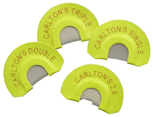 Carlton's Calls Premium Flex Elk Diaphragm 4-Pack