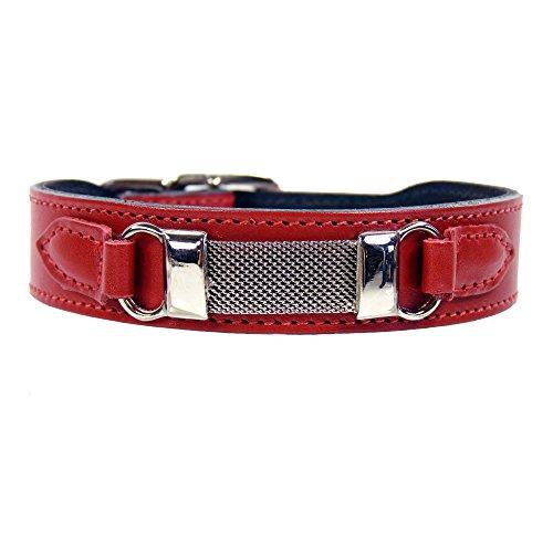 hartman-rose-barclay-collection-dog-collar-ferrari-red-22-24-inch