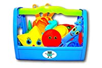 GiggleBox 13 Piece Sand Toys Cooking Set for the Beach, Pool, or Bath Tub from General Toy