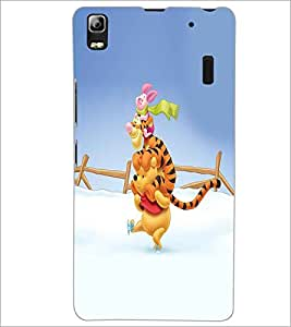PRINTSWAG CARTOON CHARACTER Designer Back Cover Case for LENNOVO A7000