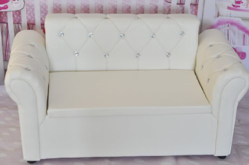 New Photography Photo Props Baby White Sofa Couch Settee Sf05