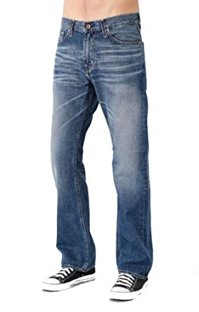 BIG STAR MEN'S PIONEER BOOT CUT JEANS IN 15 YEAR BLEAZE (29 REGULAR)