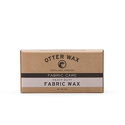 Extra-Large Fabric Wax : All Natural Water Repellent by Otter Wax : 5oz Bar (Wax Canvas compare prices)