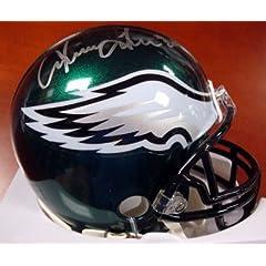 Irving Fryar Autographed Philadelphia Eagles Mini Helmet PSA DNA