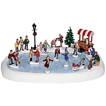 Lemax Village Collection Village Skating Pond with Adaptor # 94048