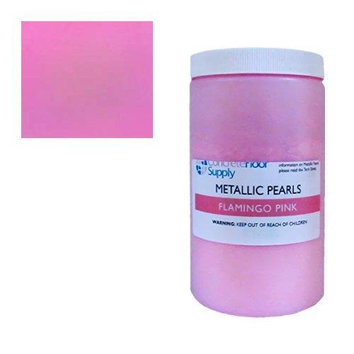 Metallic Epoxy Pigment - Bulk Containers (Flamingo Pink) (Color: Flamingo Pink)