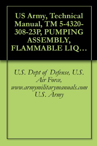 US Army, Technical Manual, TM 5-4320-308-23P, PUMPING ASSEMBLY, FLAMMABLE LIQUID, BULK TRANSFE 50 GPM, CENTRIFUGAL, DIESEL ENGINE DRIVEN, (NSN 4320-01-171-9726