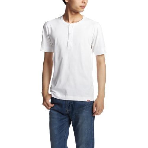 (ヘルスニット)HEALTHKNIT New Henley Short Sleeve #951  WHITE M