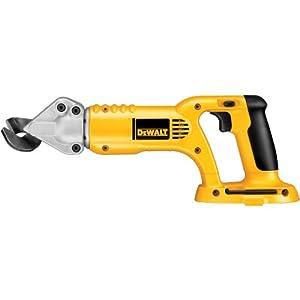 DEWALT Bare-Tool DC495B 18-Volt Cordless 18 Gauge Swivel Head and Shear (Tool Only, No Battery) from DEWALT