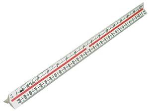 Helix 300mm Metric Triangular Scale Rule K93070