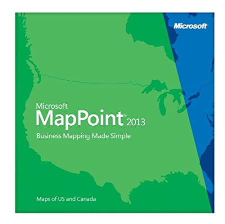 Microsoft MapPoint 2013 North America [Download]