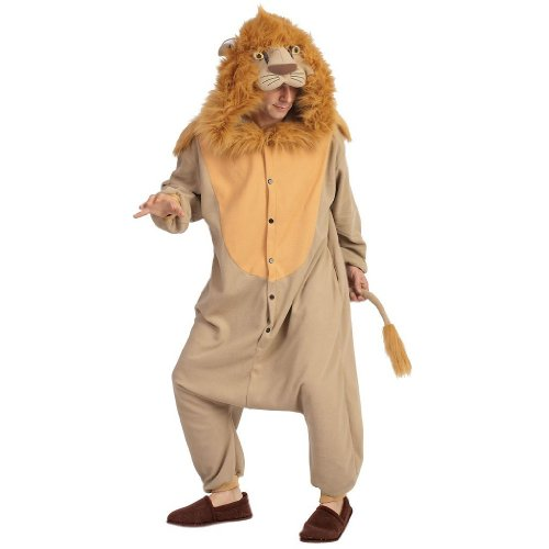 Adult Lion Mascot Animal Halloween Costume