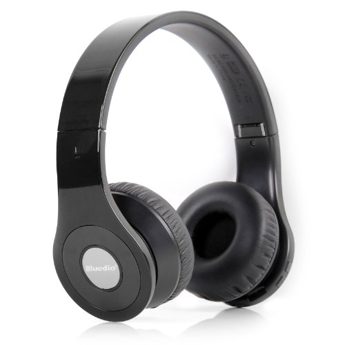 Bluedio B Bluetooth Stereo Headset For Mobile Phones - Retail Packaging - Black