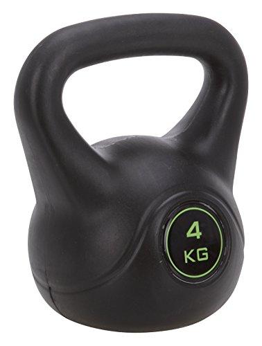 XQ Max Kettle Bell Peso Allenamento, Nero, 4 kg