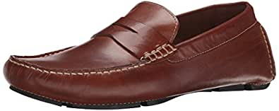 Cole Haan Men's Howland Penny Loafer,Saddle Tan,6.5 W US