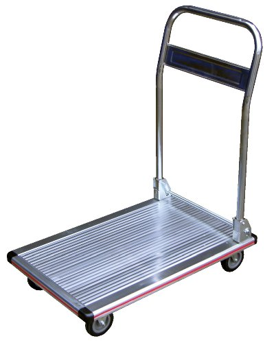 Vestil AFT-36 Aluminum Folding Platform Truck with Single Handle and 5