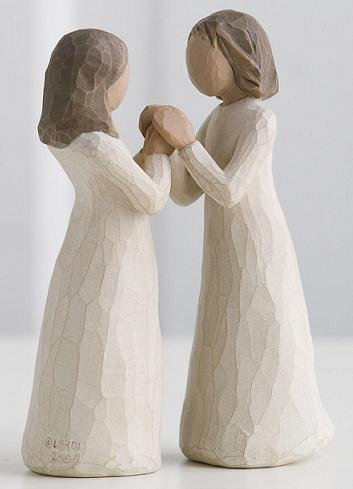 Sisters By Heart ~ Willow Tree Figurines by Susan