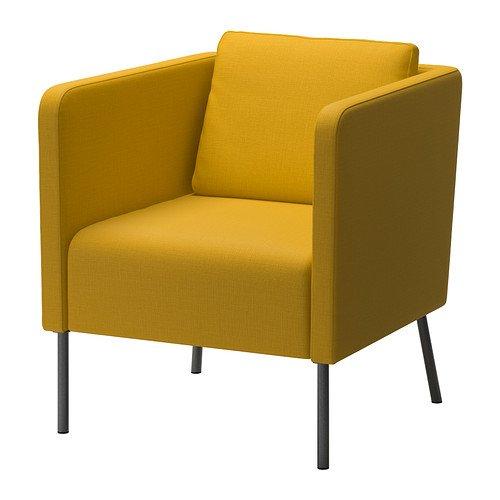 IKEA EKERO アームチェア スキフテボー イエロー 40262882