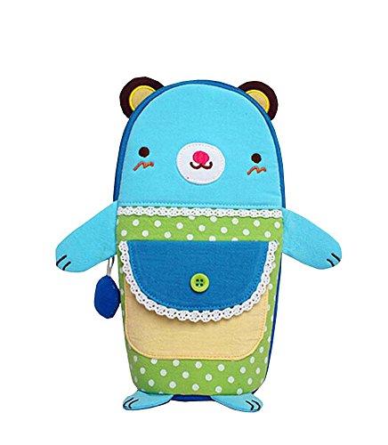 Isolé bébé / enfants Bouteille Tote Bag Portable Fashion Biberon Sac Bleu