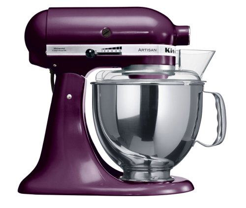 KitchenAid KSM150BBY Artisan mixer boysenberry